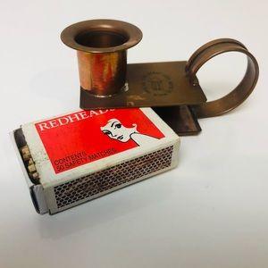 Vintage Candle Holder AUS Soho Foundry Dunny Light